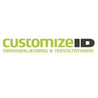 Logo CustomizeID - Firmabeklædning og tekstiltrykkeri